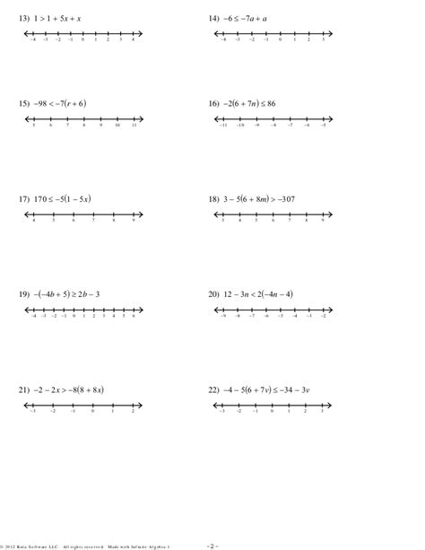 Multi Step Equations Worksheet Answers by Solving Equations With Fractions Worksheets Pdf 2 Step