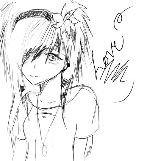 emo anime girl coloring pages emo fairy coloring pages cartoon pinterest emo