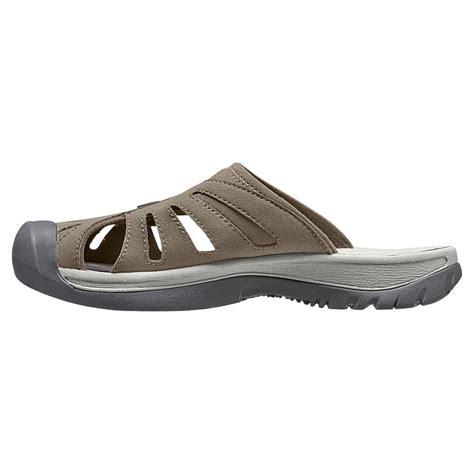 slide sandals womens keen women s slide sandals in brindle neutral grey