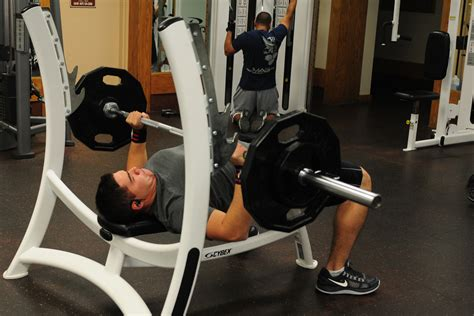 fitness bench press friday workout of the week military com