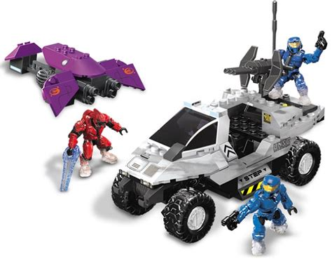 Snowbound Summary by Halo Mega Bloks Set 97003 Snowbound Unsc Rockethog