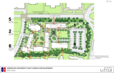 university layout plan american university neil flanagan