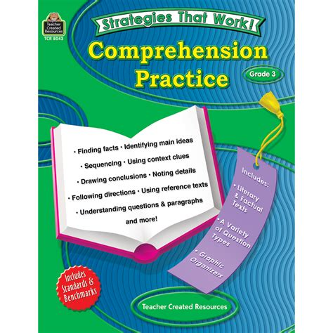 strategies that work 3rd edition teaching comprehension for engagement understanding and building knowledge grades k 8 strategies that work comprehension practice grade 3