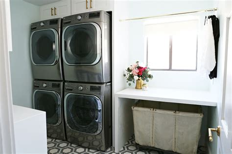 room appliances modern ranch reno laundry room part 2 appliances clutter