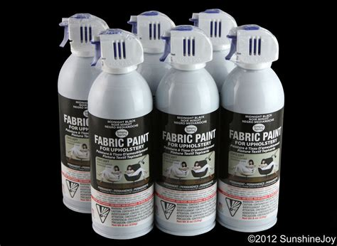 Fabric Spray Paint For by Upholstery Fabric Spray Paint 6 Pack Black Car Auto Rv