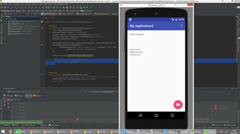 android studio emulator do not show the designed layout android studio 2 0 preview emulator not show new buttons