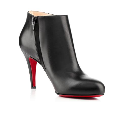 louboutin boots christian louboutin uk christian louboutin black leather