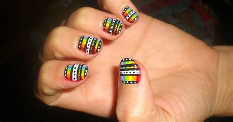 Nail For Beginners by How To Do Simple Nail Designs For Beginners Easy Nail