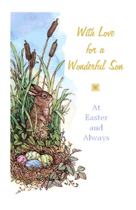 printable christmas cards son wonderful son greeting card easter printable card