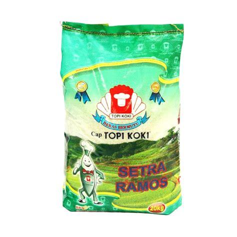Harga Beras Merek Topi Koki jual groceries beras topi koki setra ramos 20 kg