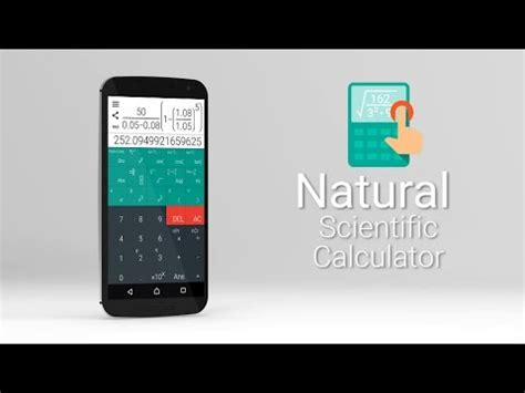 natural scientific calculator apps on google play