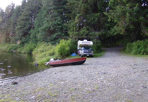 boat launch vancouver island kathleen lake cground a vancouver island cers delight