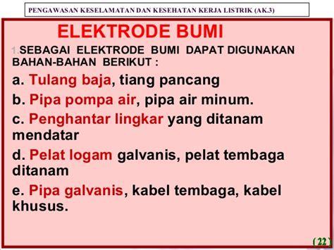 15cm 15 Cm Nur Dan Baut Logam Besi Putih Kunci 15mm 15 Mm 4 presentation grounding k3 listrik