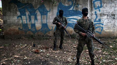 Rt Salvator guerra en el salvador matanza entre pandilleros y la