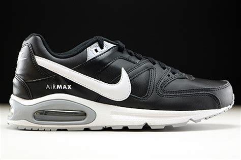 Rechnung Ablehnen Englisch Nike Air Max Command Leather Schwarz Weiss Grau 749760 010 Purchaze