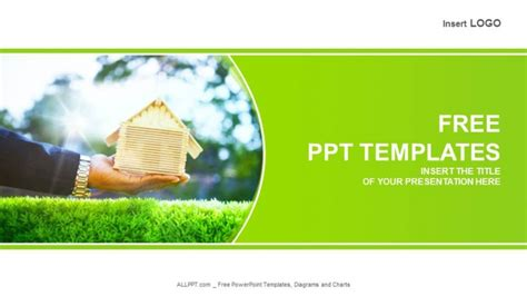 house themes for powerpoint free real estate powerpoint templates design