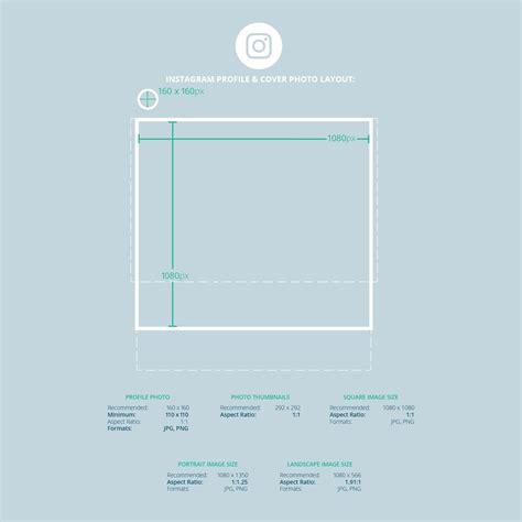 2017 social media image dimensions cheat sheet