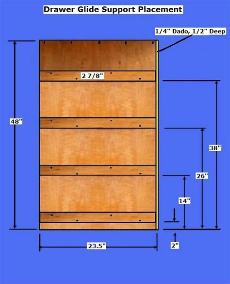 Built In Dresser Plans by Free Dresser Plans How To Build A Chest Of Drawers