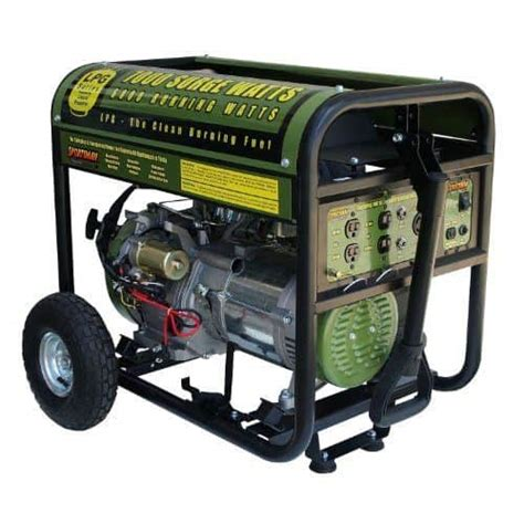 review sportsman 7000 watt propane portable generator