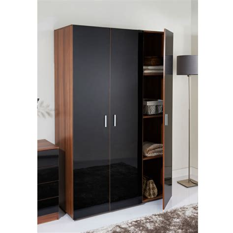 3 door armoire hugo 3 door wardrobe bedroom furniture b m stores