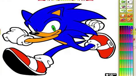 sonic painting free sonic sega s mascot coloring page sonic coloring