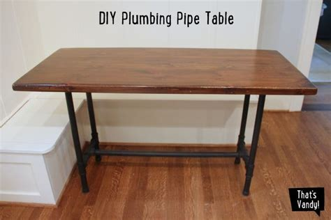 Diy Pipe Table by Diy Plumbing Pipe Table
