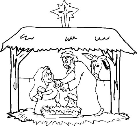 coloring pages nativity christmas free christmas coloring pages