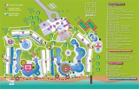 azul resort map official azul sensatori thread destination wedding in