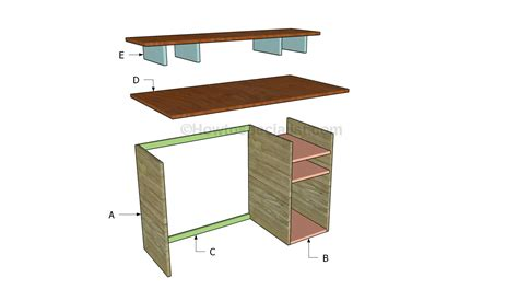 how to build a computer desk plans to build a computer desk 28 images build a