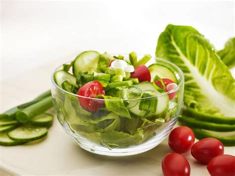 Garden Salad Ideas Livelighter Basic Garden Salad