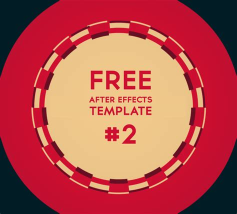 free after effects template free after effects template 2d logo motion design motion