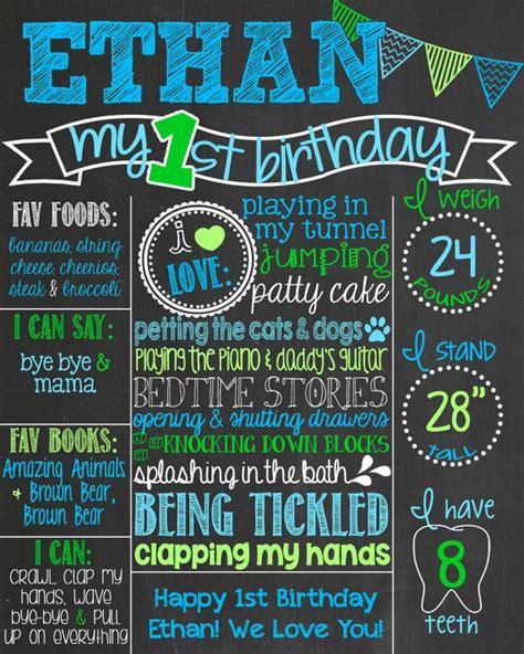 birthday chalkboard poster template 17 best ideas about birthday chalkboard on