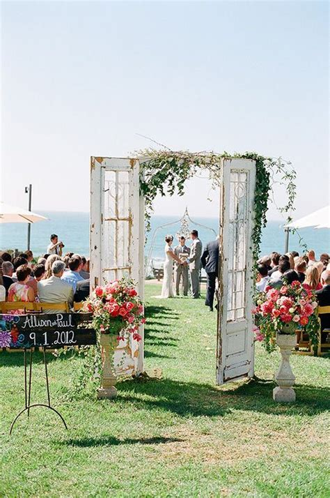 outdoor wedding ceremony ideas 3 unique ceremony decor ideas you ll adore weddingbells