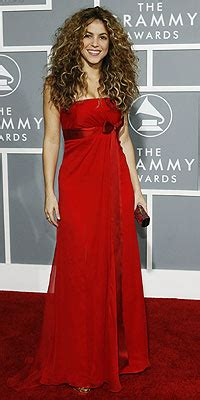 2008 Grammy Awards Best Dressed by Best Dressed At The Grammys Shakira