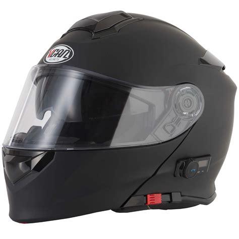 Schwarzer Motorradhelm by Vcan Blinc Bluetooth Motorcycle Helmets Blinc