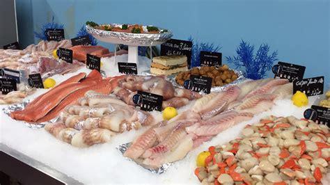 produits de la mer le marche aux poissons fec