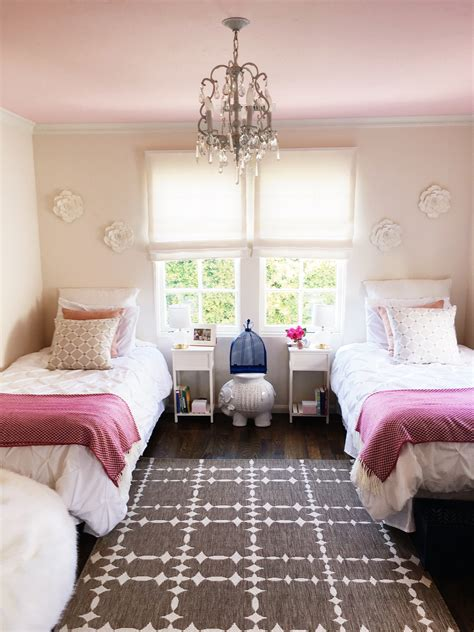 easy a bedroom california girls room makeover easy paint ideas cococozy
