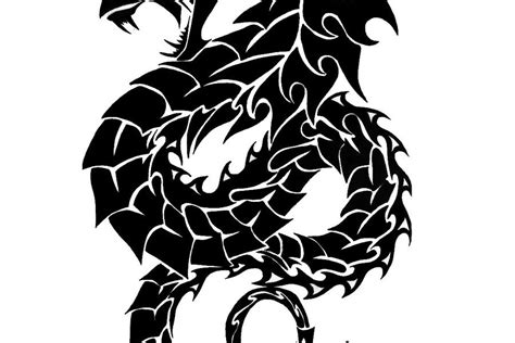 stunning dragon tattoo stencil designs tattoos