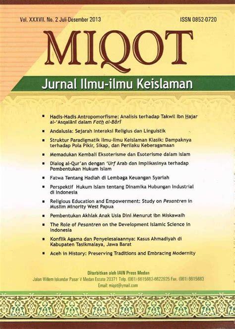 Jurnal Ilmu Sastra Poetika Volume I No 2 miqot vol xxxvii no 2 juli desember 2013 by miqot jurnal ilmu ilmu keislaman issuu