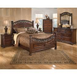 Ashley Bedroom Furniture Leahlyn Panel Bedroom Set Signature Design By Ashley