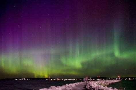 northern lights wisconsin tonight where and when to see northern lights tonight in michigan