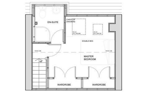 attic bedroom floor plans chartered architects edinburgh lsm architecture