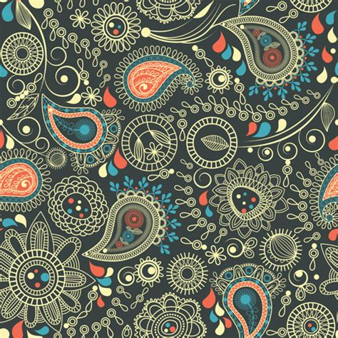 paisley pattern vector free download paisley pattern free vector download 18 679 free vector