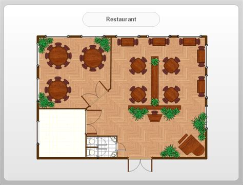 building layout maker simple restaurant floor plan home design plan