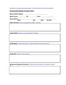 Crown Brief Template by Creative Education Templates Creative Brief Template