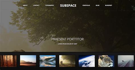 html5 free portfolio template 70 cool website templates for artists photographers