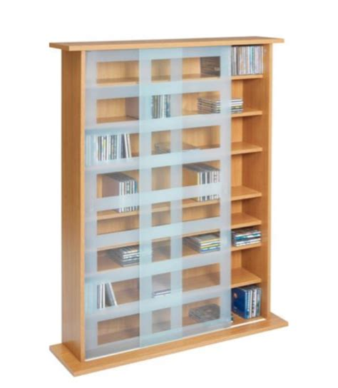 glass door storage units dvd storage our of the best housetohome co uk