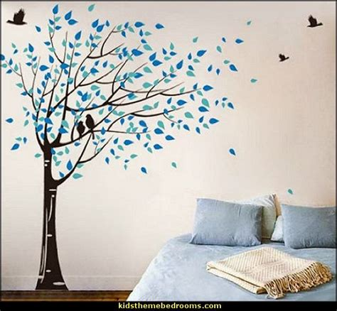 mural stickers for walls decorating theme bedrooms maries manor trees