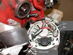 alternator  charging exciter wire volvo forums volvo enthusiasts forum