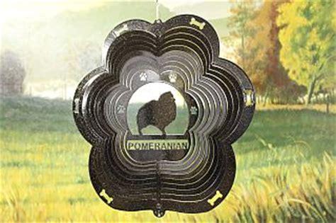 starlight pomeranians 12 quot pomeranian breed wind spinner black starlight